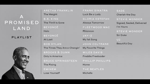 歐巴馬釋出親選歌單,阿姆、Jay-Z 被點名