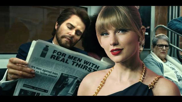 Taylor Swift 變裝落腮鬍男子漢 ?〈The Man〉MV 彩蛋大解密