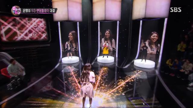 Gameshow nước ngoài - Người chơi hát hay bất chấp trong Fantastic Duo Hàn Quốc