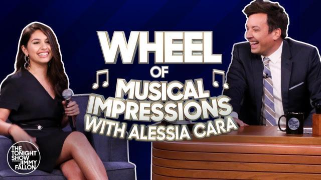 The Tonight Show Starring Jimmy Fallon |  Khách mời giả giọng Billie và Amy Winehouse cực giống!