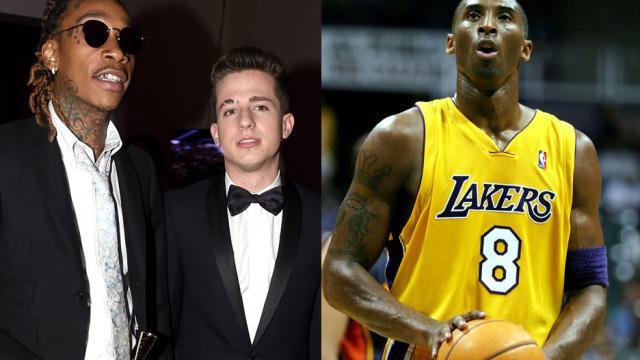 Tiếc thương Kobe | Charlie Puth & Wiz Khalifa tái hiện See You Again trên sàn thi đấu