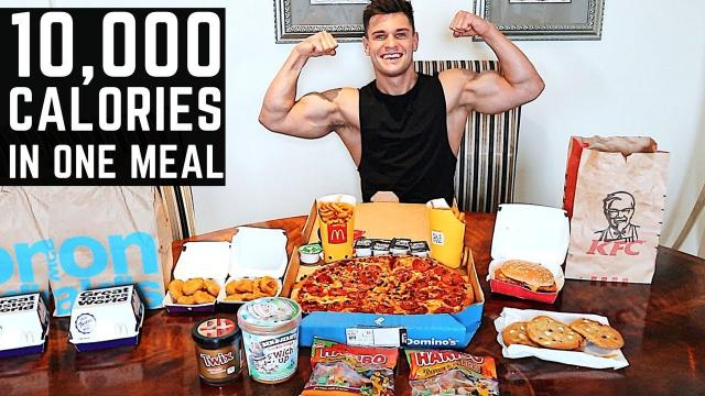 Food Challenge | 10,000 Calorie Challenge in 1 hour