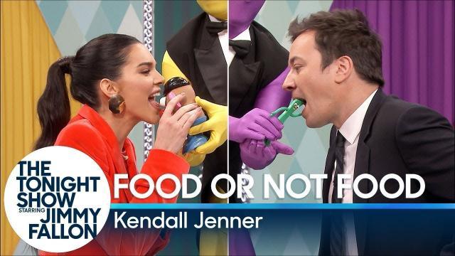 超模 Kendall Jenner 的脫口秀合輯!