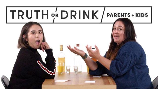 Truth or Drink ! 選擇說真話,還是喝杯酒!