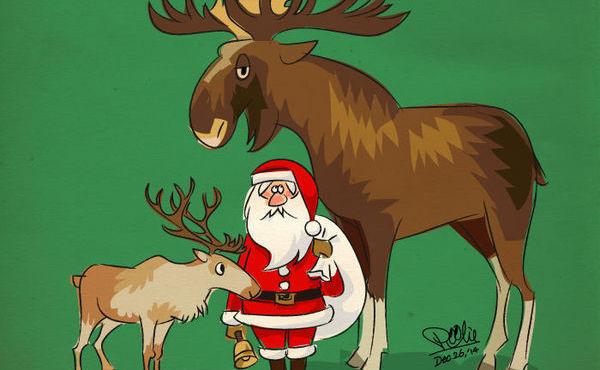 【舉三反一】聖誕老公公的拉雪橇小幫手,其實不是麋鹿!?