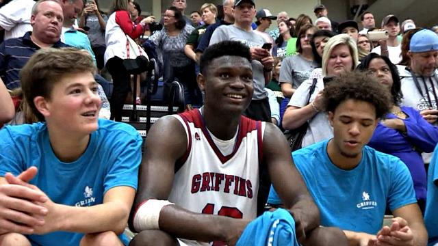 Rising Basketball Star Focus | The 16 yrs old Beast Zion Williamson