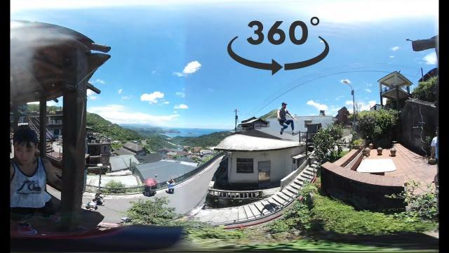 【跑酷Parkour】你一定沒看過的超屌視角 360度全景跑酷 帶你跳遍台灣風景區