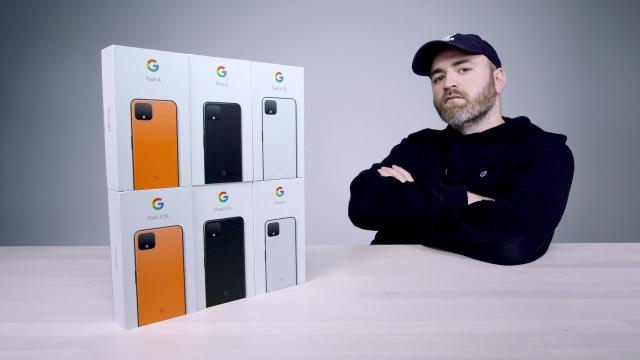 Google Pixel 4 全系列開箱