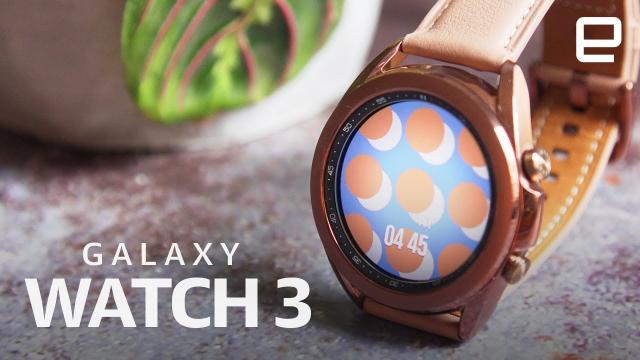 三星Galaxy Watch 3開箱評測|最好的『非蘋果』智能手錶