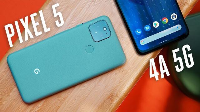 【手機評測】Pixel 5 & 4A 5G 對於不執著高階的看法|中文解譯