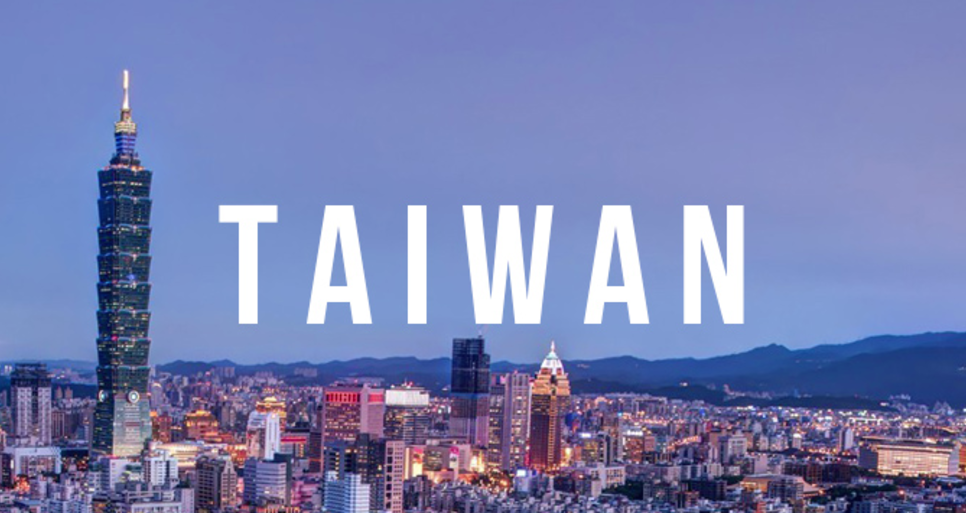 The place to be-- TAIWAN