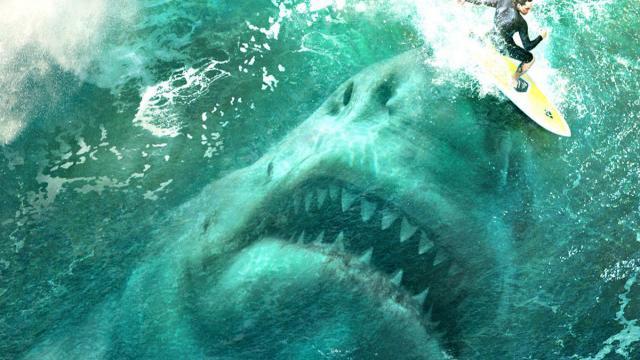 『血腥』超震撼的大白鯊電影場景