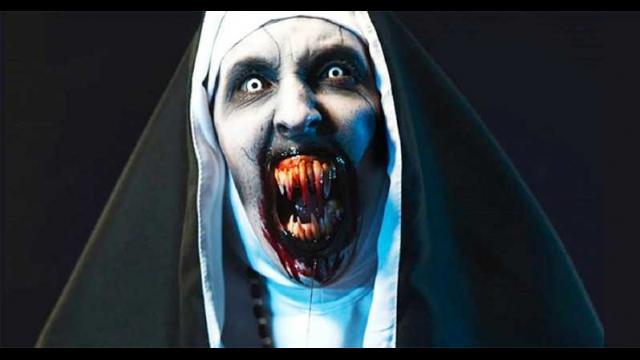 《鬼修女》宣傳影片被禁播!!到底有多可怕?看他們的反應就知道了!