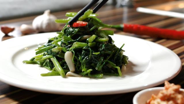 腐乳空心菜│益家煮 營養好吃健康食譜