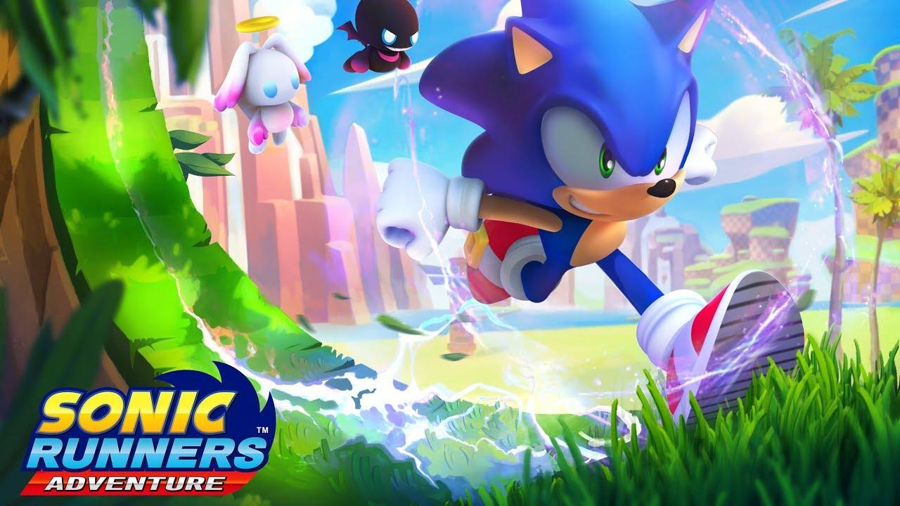 【Sonic Runners Adventure】音速小子跑酷手機遊戲(最新)