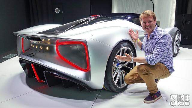 來看一下全新的Lotus蓮花超跑!高達2000匹馬力、173公斤米扭力!!