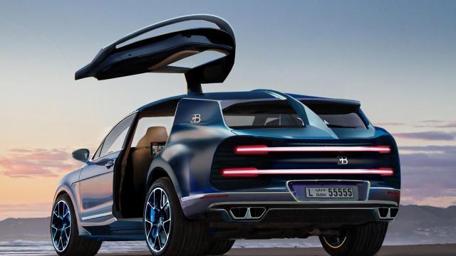 下一輛Bugatti將會是跨界休旅 售價100萬美金!