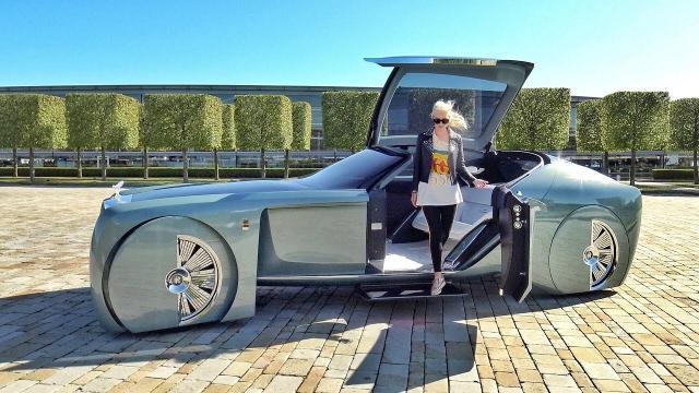 【中文實車】勞斯萊斯「103EX」豪華概念實車體驗!這不是奢華那什麼是!?
