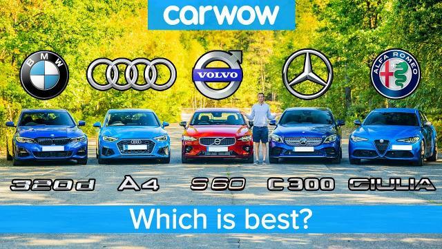 BMW 3 Series v Audi A4 v Merc C-Class v Volvo S60 v Alfa Giulia 哪台最好?
