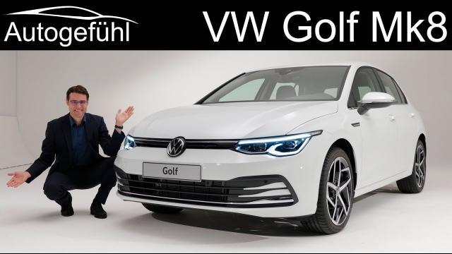 【車評】全新福斯Golf 8首次亮相!車身外觀以及內裝實際體驗!