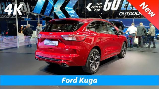 【中文解譯】全新『福特Kuga』內裝以及外觀評比!|4K畫質觀賞