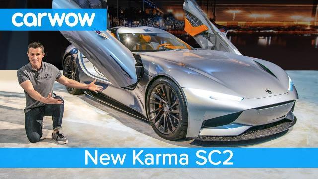 全新1100匹的Karma SC2 EV - 來看看為什麼比特斯拉Roadster酷吧