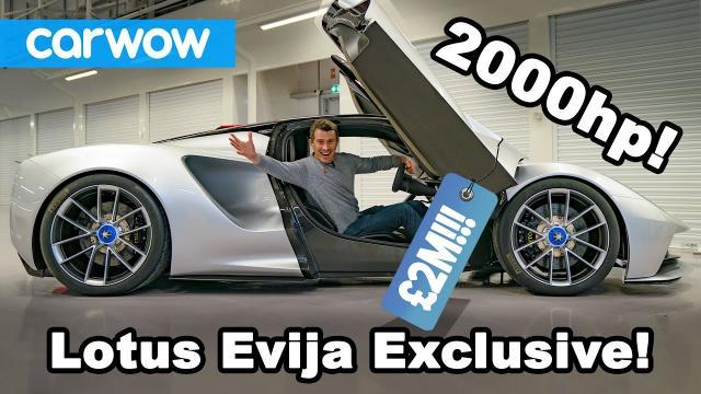 全新2000匹的蓮花Evija EV!!