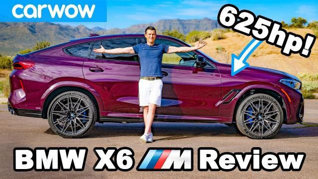全新的BMW X6M competition 有夠快的!!