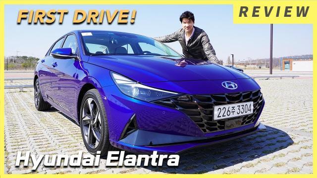 全新2021年七代 Hyundai Elantra 試駕|韓媒車評 (含中文)