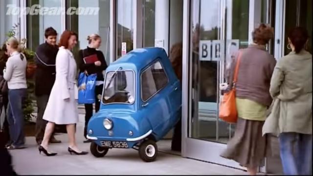 【車評】最小的量產車1962年Peel P50,拍賣身價高過R8