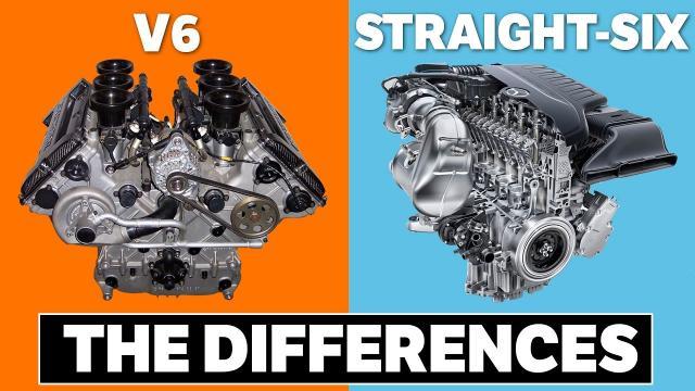 V6引擎和直6引擎的區別!
