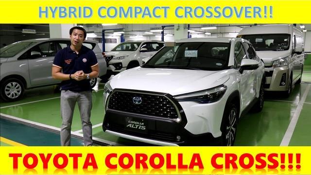 全新2021年Toyota Corolla Cross Hybrid 車評與試駕|中文解譯