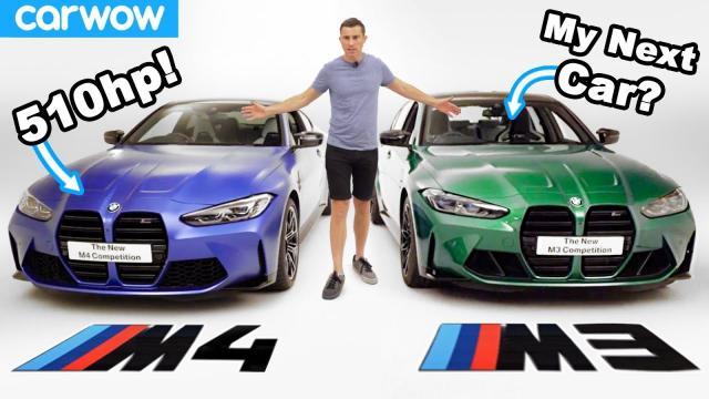 來了解一下2021年全新的BMW M4和M3!