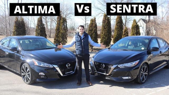 【車評】Nissan的Altima與Sentra,應該要怎麼選呢?|中文解譯