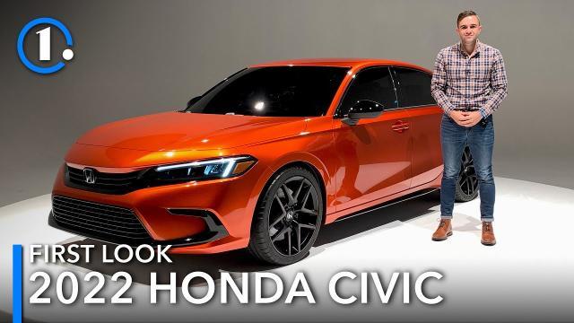 【Motor1】搶先看2022年的Honda Civic|中文解譯