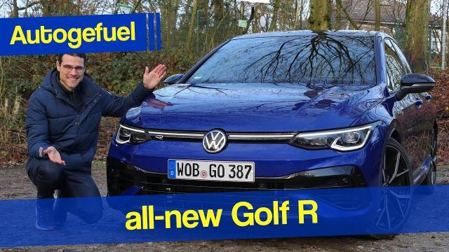 【全面車評】2021年Golf R來了!最運動激進的R代 中文解譯