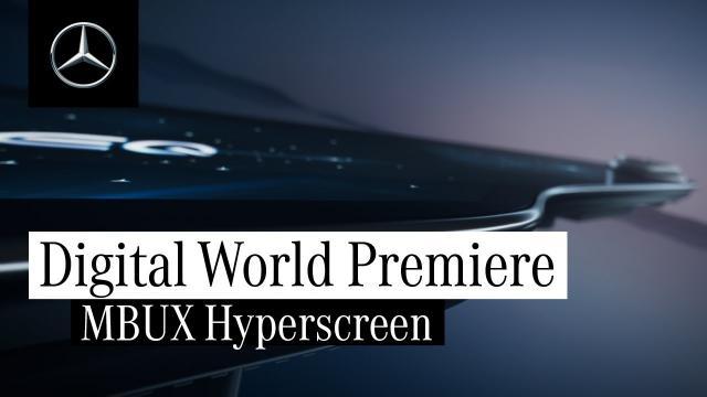 全球首映!Mercedes-Benz 正式發表 MBUX Hyperscreen 超級螢幕|中文解譯