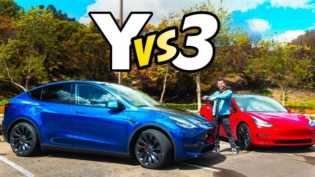 【要選哪一輛】Model 3 Performance車主,來比較新購入的Model Y Performance!中文解譯車評