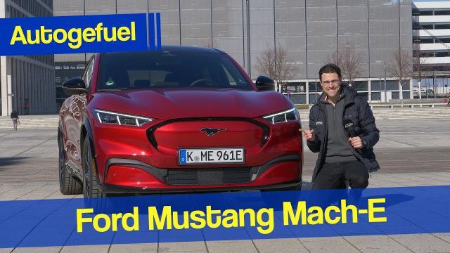 【車評試駕】電動野馬休旅!全新 EV Ford Mach-E 試駕感受|中文解譯