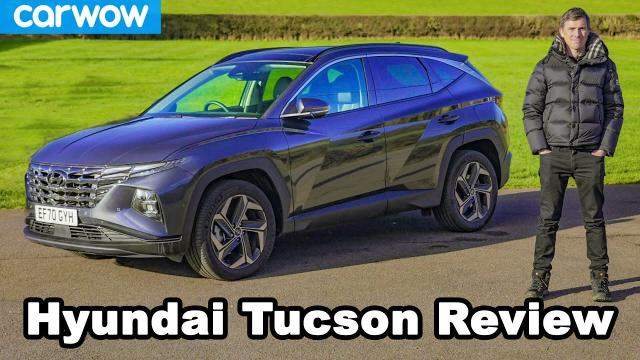 【carwow車評】2021年Hyundai Tucson有多少車的影子?|中文解譯