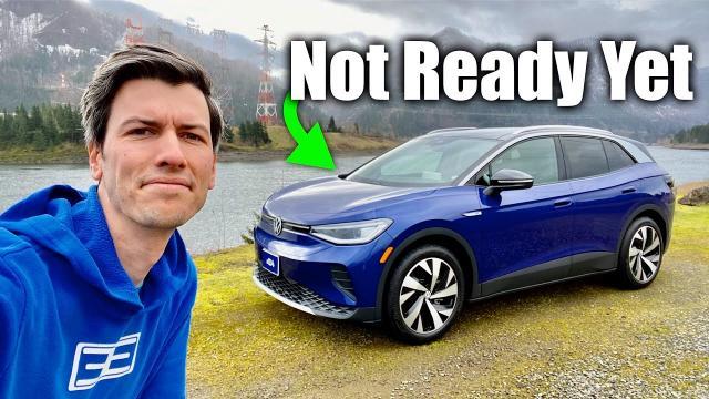 【駕駛體驗】福斯 ID.4有點讓人失望的電動車(現況來說)|外媒車評|中文解譯