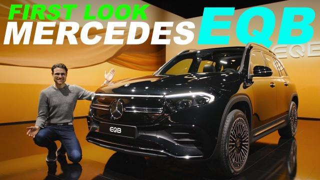 【德國小哥車評】Mercedes EQB 7人座的SUV!第三排表現如何?|中文解譯
