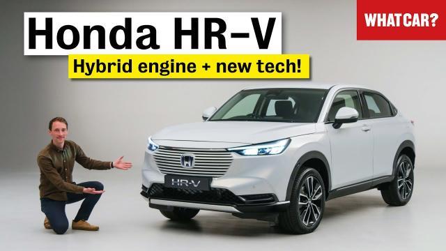 【車評】2021年全新Honda HR-V   油電休旅的全新改變|中文