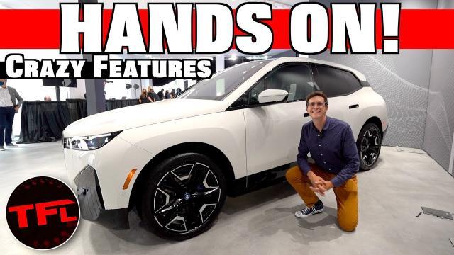 【車評】Tesla的新對手? 2022年的BMW電動車iX來了!|中文解譯