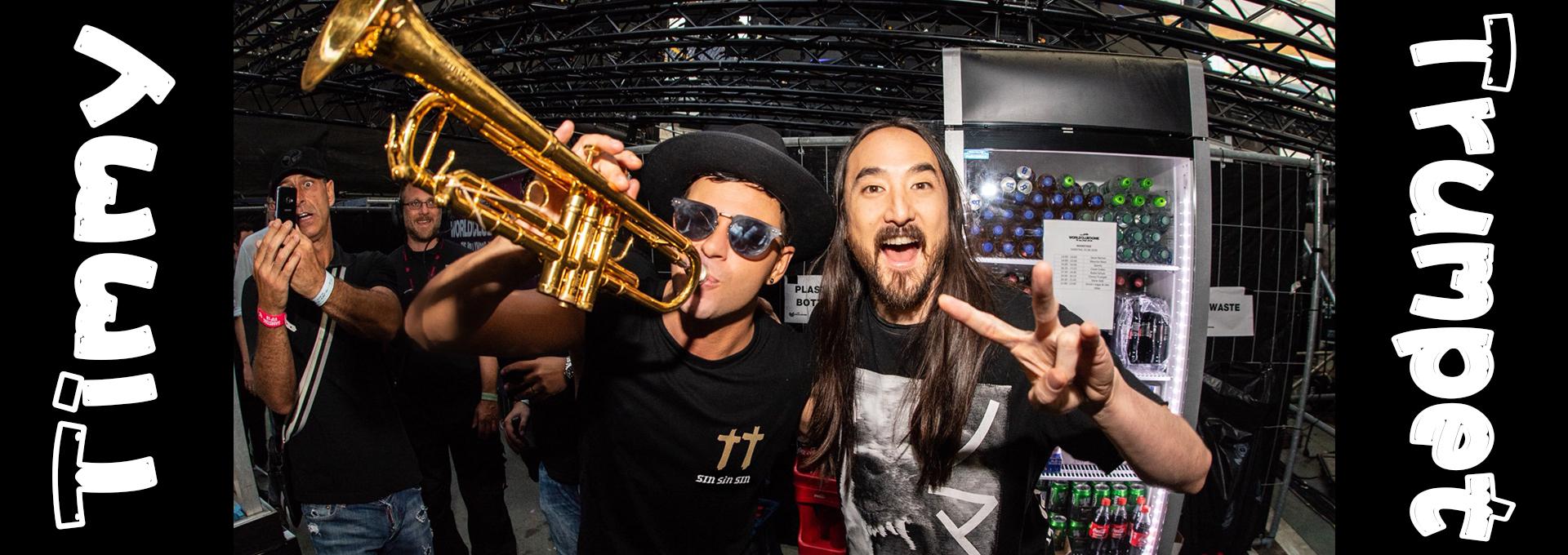 來自澳洲的電音小喇叭『Timmy Trumpet』熱門舞曲